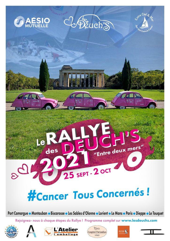 affiche du Rallye des Deuch'S 2021
