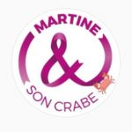 Martine & son crabe